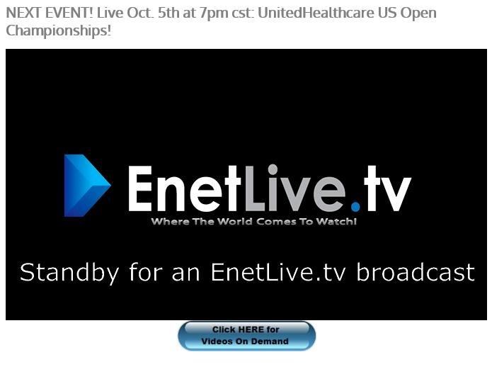 US Open On EnetLive