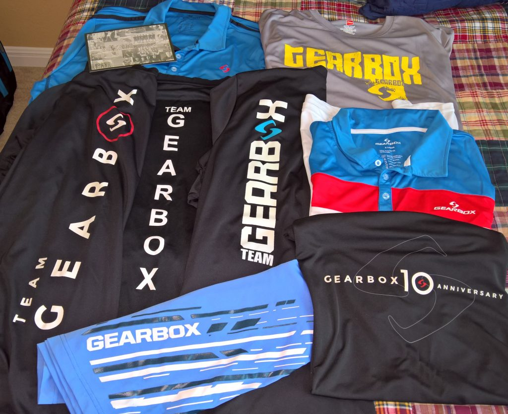 Team Gearbox Shirts
